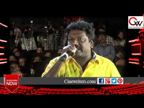Actor Karunas speaks about Kamal Haasan at Thoongavanam Audio Launch