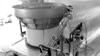 Elscint Vibratory Bowl Feeder for Coffee Cups