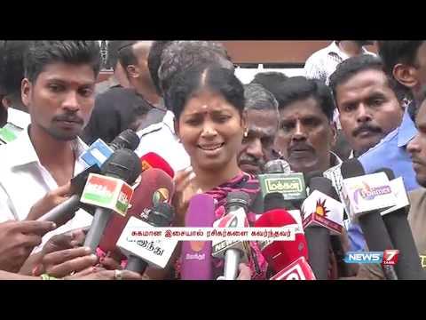 Singer Nithyasree on MS Viswanathan's death | Tamil Nadu | News7 Tamil