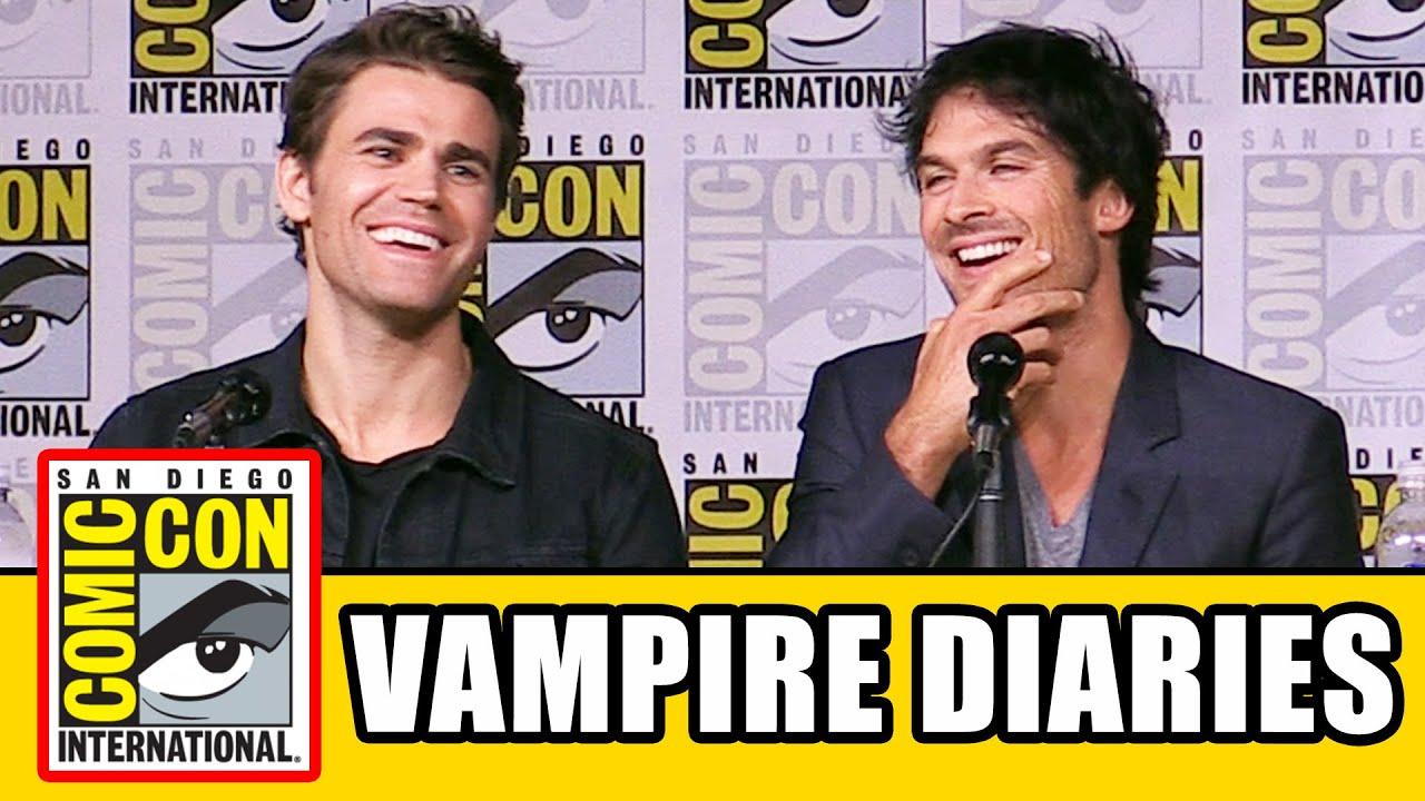 Download THE VAMPIRE DIARIES Season 8 Comic Con Panel (Part 1) - Ian Somerhalder, Kat Graham, Paul Wesley