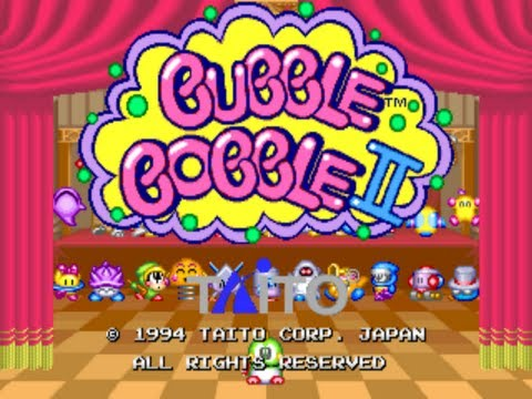 Bubble Bobble II Arcade (Two Players) [ HD ]