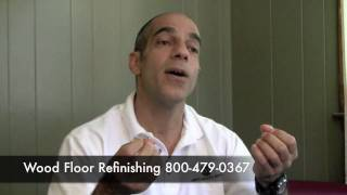 Hardwood Floor Refinishing Eco-Friendly Wood Finish in MA