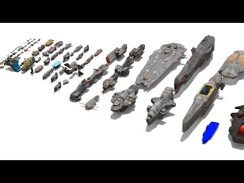 Homeworld Remastered Ship sizes + Deserts of Kharak