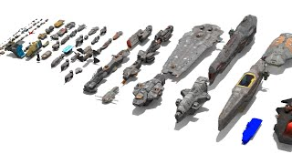 Homeworld Remastered Ship Sizes