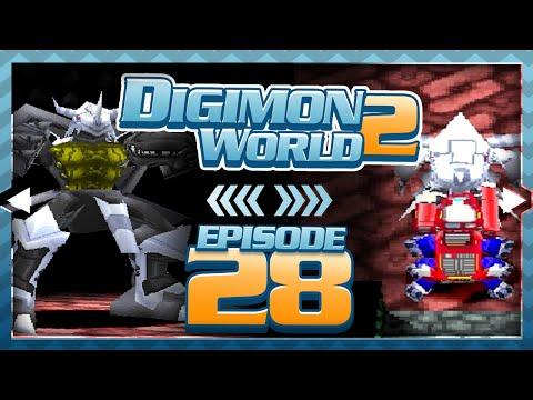 Digimon World 2 - Episode 28 : ChaosBlackWarGreymon + Patch Domain