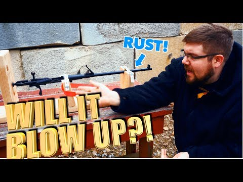 Rusted Out Mosin Nagant - Will It Shoot?! - The Proving Ground