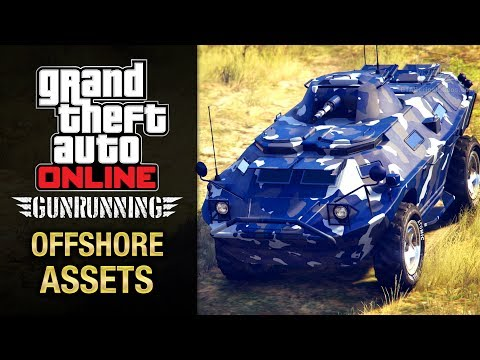 GTA Online Gunrunning - Mobile Operation #4 - APC (Offshore Assets)