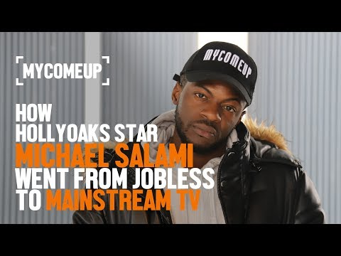 How Hollyoaks Star Michael Salami Went From Jobless To Mainstream TV   MYCOMEUP