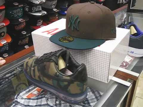 nike air force 1 low max vt camo hat