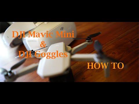 DJI MAVIC MINI & GOGGLES / HOW TO