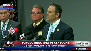 TRAGEDY IN KENTUCKY: High School Shooting Leaves 2 Dead and 19 Injured