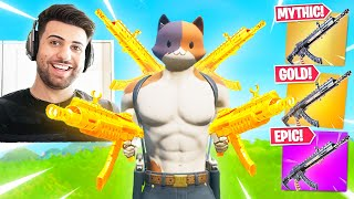 The *TRIPLE* Meowscles AK! (Very OP!) - Fortnite Battle Royale