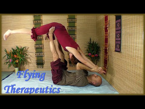 Flying Therapeutics, Acro Yoga And Thai Massage