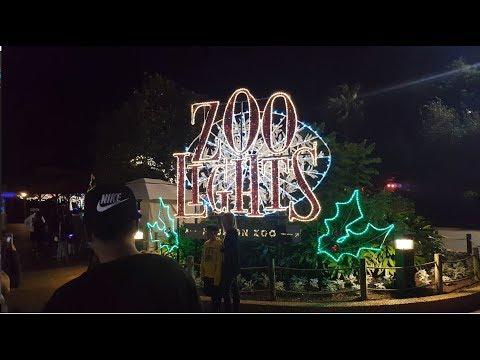 Houston Zoo Lights 2017