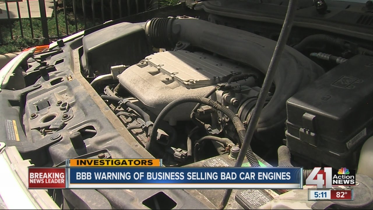 BBB receives hundreds of complaints about company selling car engines online