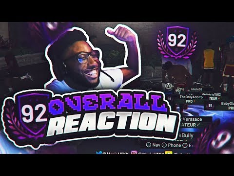 92 OVERALL REACTION!!! NO WAY 2K REALLY GAVE ME THIS!? A MEGAPHONE!? NBA 2K19