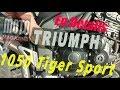Triumph 1050 Tiger Sport : la vie au quotidien