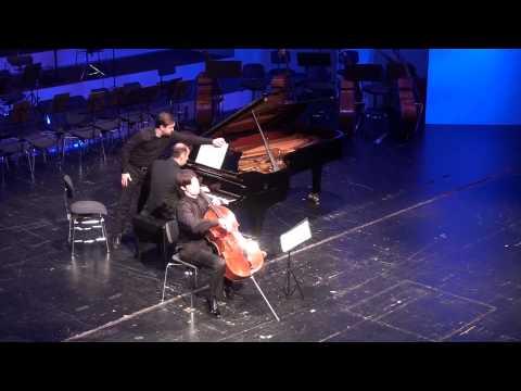 Brahms-Sonata for cello and piano no.2 op.99 Simon Trpčeski, Daniel Müller-Schott