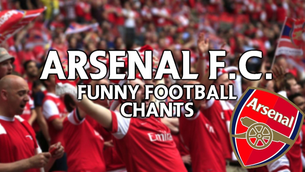 Arsenal - Chants, Songs & Lyrics - CFCnet
