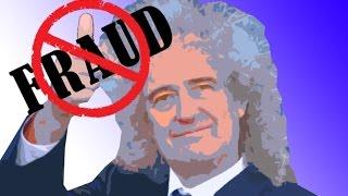 Brian May Thanksgiving Fraud