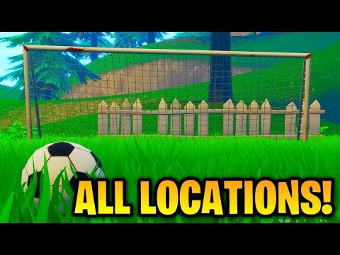 ''Score A Goal On Different Pitches'' ALL LOCATIONS! [Fortnite: Week 7 Challenges]