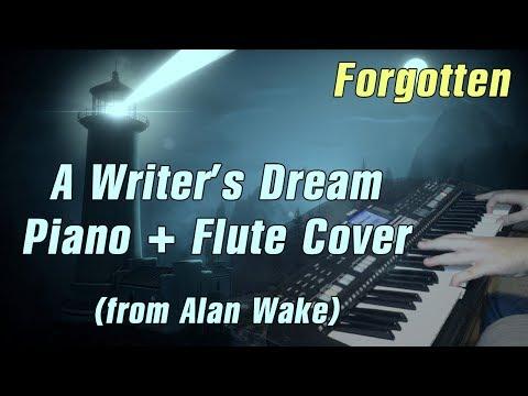 Forgotten - Writer's Dream (Piano + Flute Cover | Alan Wake)