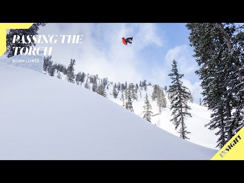 Bjorn Leines Shares his Snowboarding Experience with the Next Generation   Insight