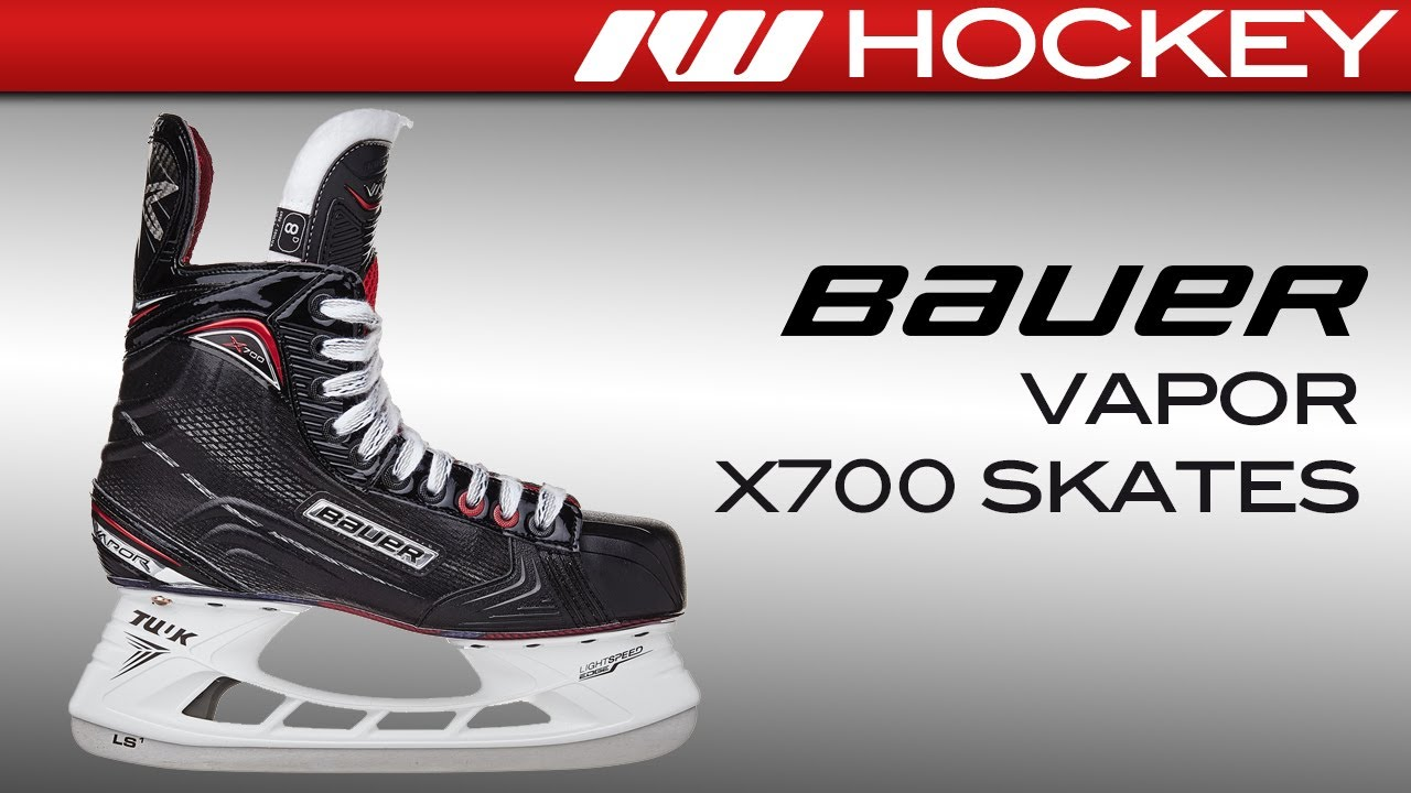 4e149ba8a3e 2017 Bauer Vapor X700 Skate Review - YouTube