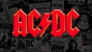 AC DC Boogie Man backing track