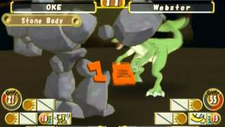 Monster Rancher 3 (PLAYSTATION 2) Golem