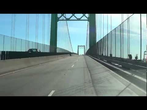 Vincent Thomas Bridge - Eastbound