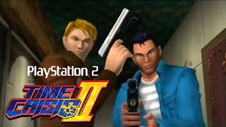 Time Crisis II playthrough (PS2)