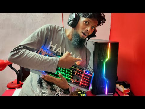 My New Gaming PC REVEALING Bought From Youtube Money😍🥳|BUROOJ 4 TECH