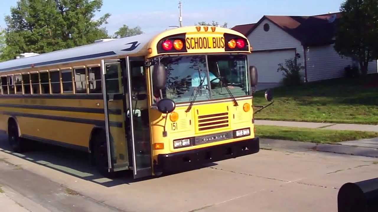 Steps For Buses : Jason s first steps onto the bus for kindergarten on