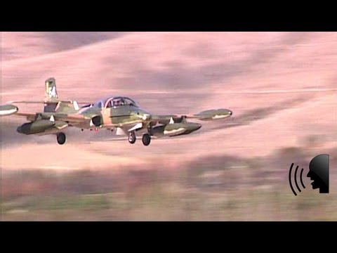 Cessna A-37 Dragonfly jet attack aircraft