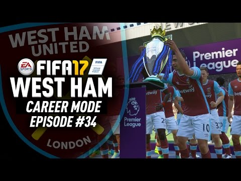 3 PREMIER LEAGUE TITLES IN A ROW!? FIFA 17 West Ham Career Mode #34