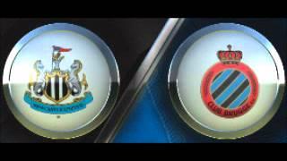 Newcastle Vs Club Brugge 1-0 All Goals & Highlights Europa League fifa12