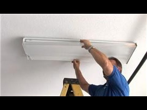 Kitchen Fluorescent Light Covers Stonewall Pancake Mix Home Electrical Repairs How To Replace The Lens For Fixtures Youtube