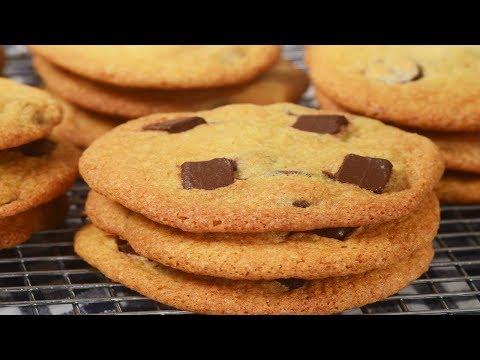 Chocolate Chip Cookies Recipe Demonstration - Joyofbaking.com
