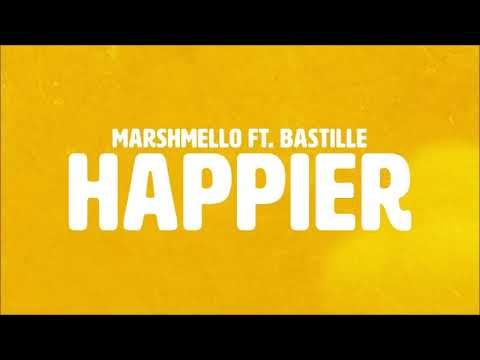 Marshmello ft. Bastille - Happier 1hr loop