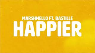 Marshmello ft. Bastille  -  Happier 1hr loop