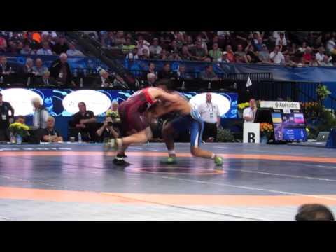 2015 World Wrestling Championship Brent Metcalf v Iran Match 3