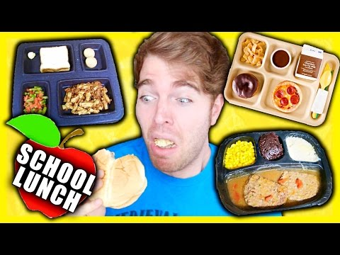 TASTING SCHOOL LUNCHES