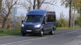 A legnagyobb Ford Transit minibusz – 18 személyre