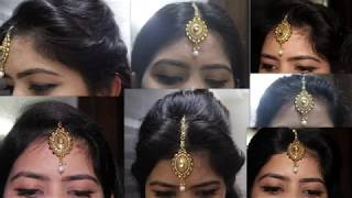 8 Different Hairstyles With One Maang Tikka I Beauty And Creativity
