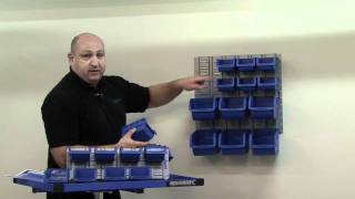 Small Part Wall Storage Solutions For The Workshop Or Garage