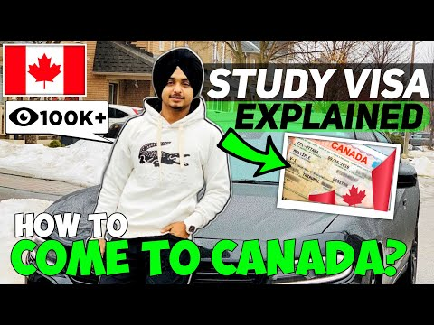 Study Visa Explained   How To Come To CANADA