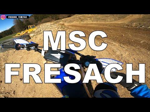 Week end at MSC Fresach (Austria) - YZF 250