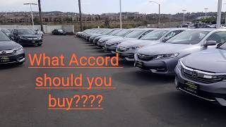 What Accord is best for you?