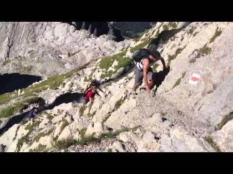 Säntis 2501,9 m   Zum Gipfel und zurück  Schwägalp - Säntis